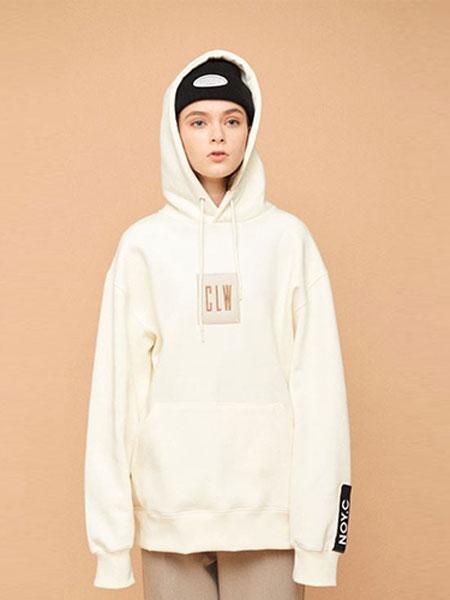 NOYCOMMON国际品牌品牌2020春夏经典小标带帽卫衣