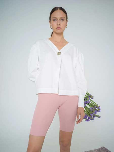 bogdar国际品牌品牌2020春夏超大有机棉衬衫