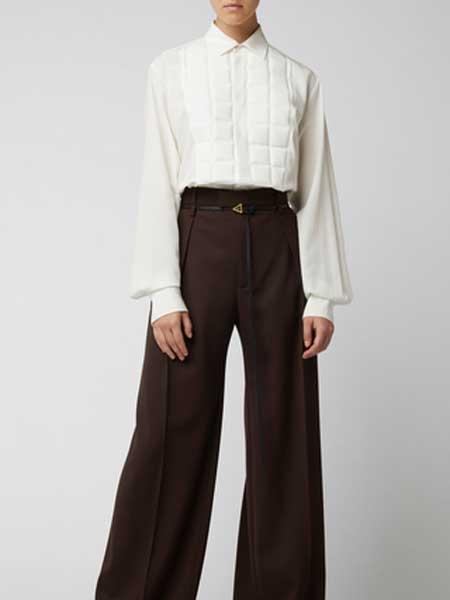 St Agni国际品牌品牌2020春夏九分高腰直筒牛仔裤