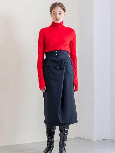SALT+JAPAN国际品牌品牌2020春夏新款纯色针织高领毛衣