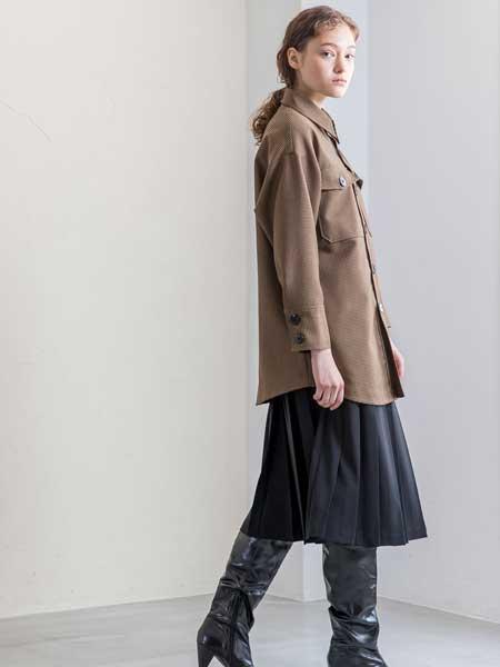 SALT+JAPAN国际品牌品牌2020春夏新款纯色翻领纽扣夹克