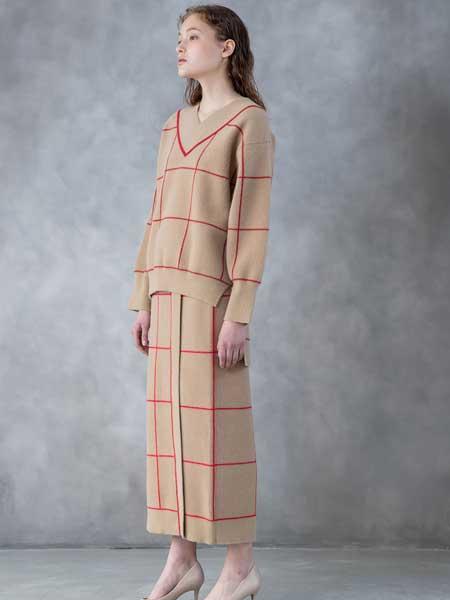 SALT+JAPAN国际品牌品牌2020春夏新款纯色翻领气质连衣裙