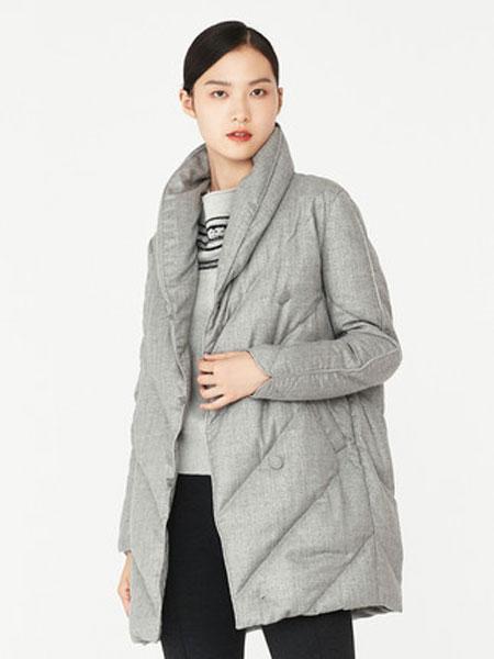 Elegant ProsperX���H品牌品牌2019秋冬新款女�b羊毛中�L羽�q服
