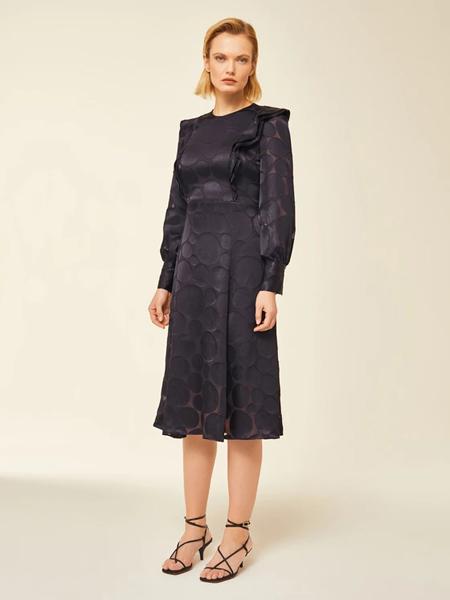 Ivy & Oak国际品牌品牌2020春夏时尚收腰连衣裙