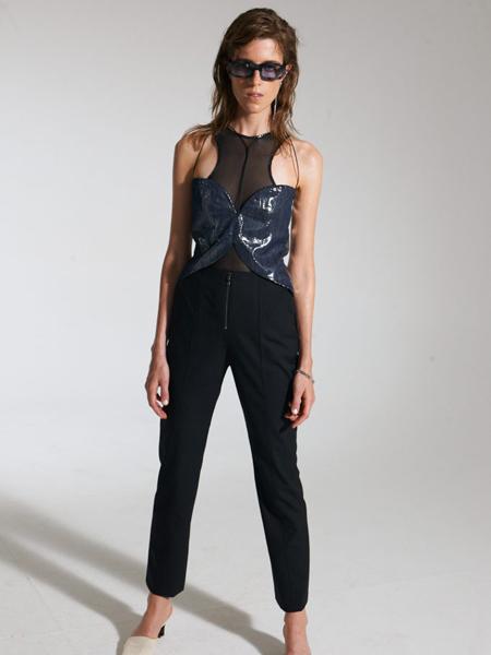 Giuseppe Buccinna国际品牌2020春夏时尚无袖上衣