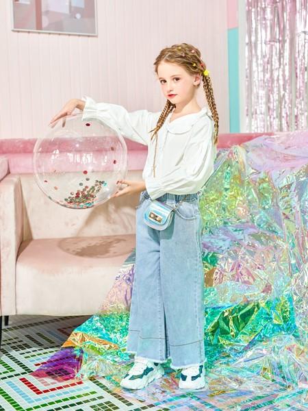 卡儿菲特山西童装品牌2020春夏娃娃衫衬衣