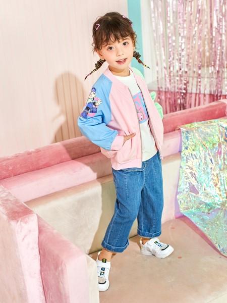 卡儿菲特童装童装品牌2020春夏撞色棒球服