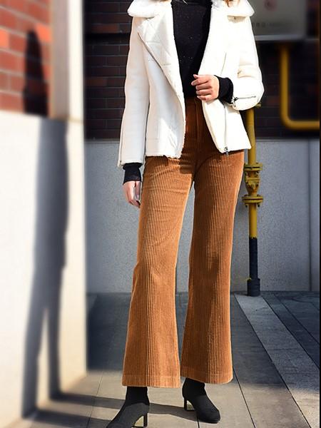黑贝HERBAY女装品牌2020秋冬短款羊羔毛外套
