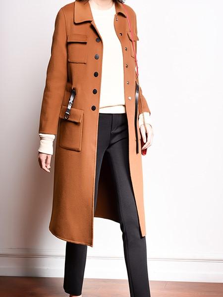 黑贝HERBAY女装品牌2020秋冬休闲夹克衫