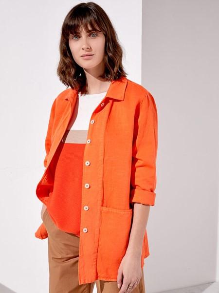Rosso35国际品牌品牌2020春夏时尚气质衬衫