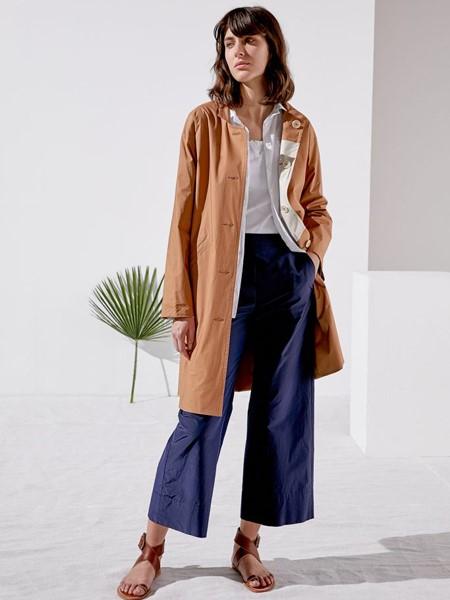 Rosso35国际品牌品牌2020春夏长款气质外套