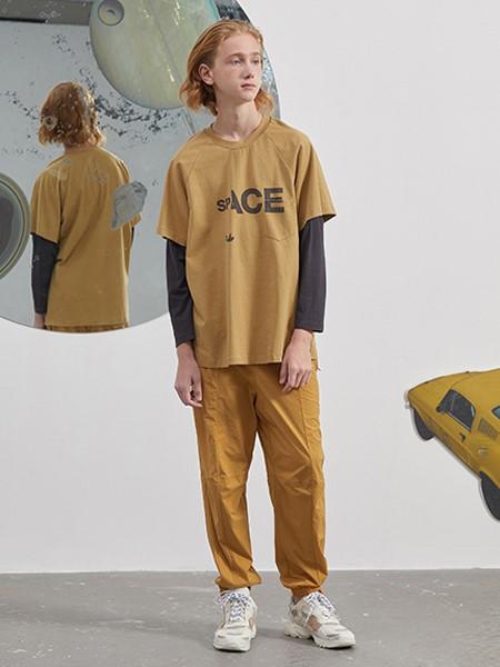 Pomme de terre国际品牌品牌2020春夏纯棉T恤长袖