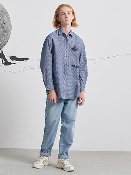 Pomme de terre国际品牌品牌2020春夏棉麻衬衣