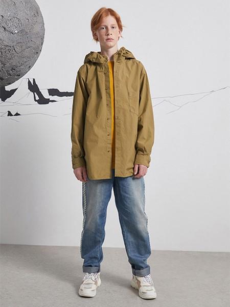 Pomme de terre国际品牌品牌2020春夏休闲夹克衫