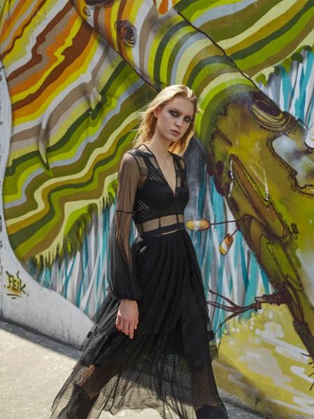 AINEA国际品牌品牌2020春夏时尚连衣裙