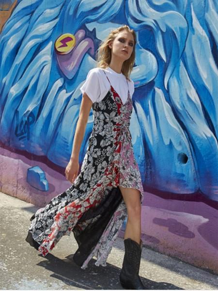 AINEA国际品牌品牌2020春夏清新连衣裙