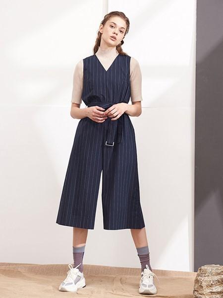 NONO女裝品牌2020春夏棉麻背心裙