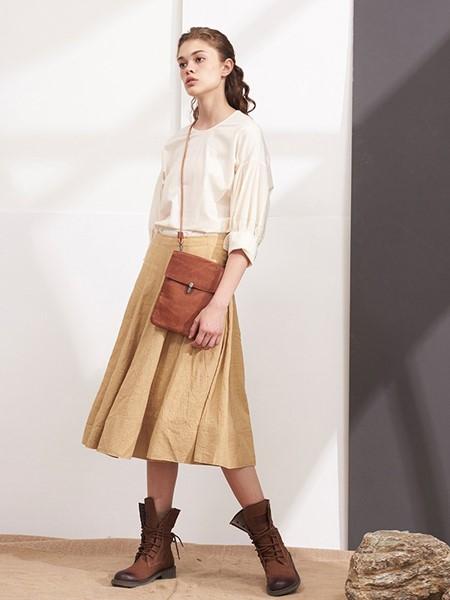 NONO女装品牌2020春夏复古气质衬衣