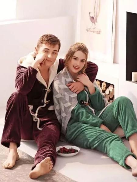 女人心内衣品牌2020秋冬保暖家居服睡衣