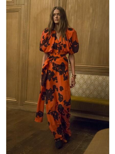 Hellessy国际品牌品牌2020春夏设计感知性连衣裙