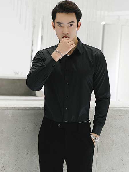 乔治邦尼男装品牌2020春夏商务休闲衬衫