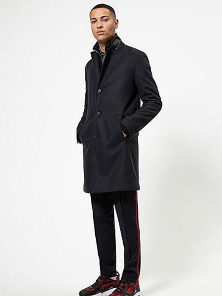 HUGO国际品牌2020春夏男士初剪羊毛混纺修身外套