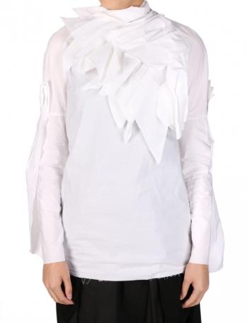 Blackmerle国际品牌品牌2020春夏纯色气质衬衫