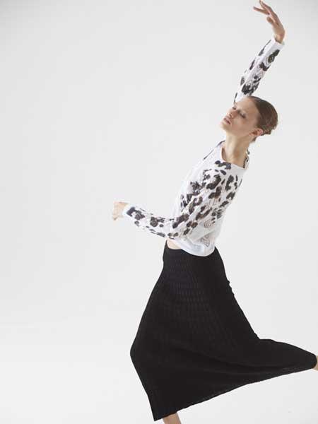 Cividini国际品牌品牌2020春夏纯色花纹长袖上衣