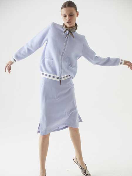 Cividini国际品牌品牌2020春夏纯色简洁拉链衬衫