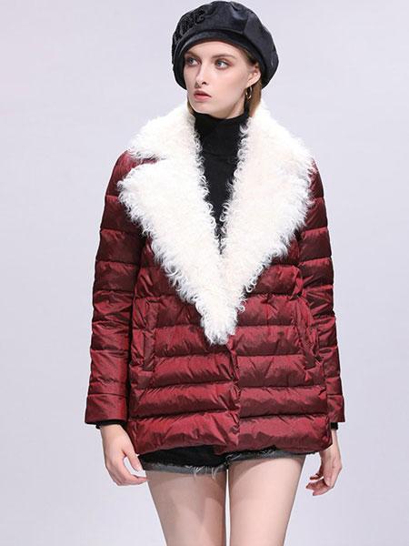 SS&99女装品牌2019秋冬新款中长款欧货冬款时尚白鸭绒韩版小个子加厚