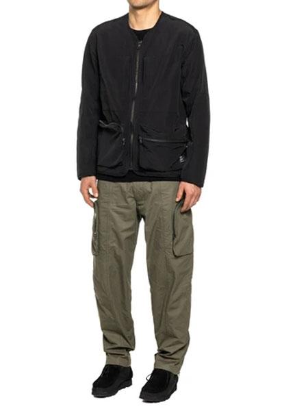 HAVEN国际品牌2020春新款黑色派克大衣