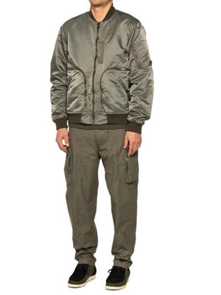 HAVEN国际品牌品牌2020春夏新款纯色飞行员夹克