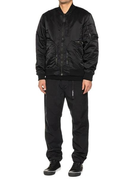 HAVEN国际品牌2020春夏新款纯色飞行员夹克