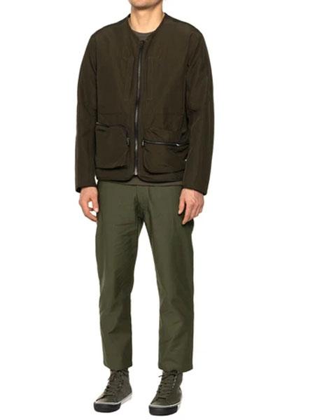 HAVEN国际品牌品牌2020春新款黑色帆布大衣