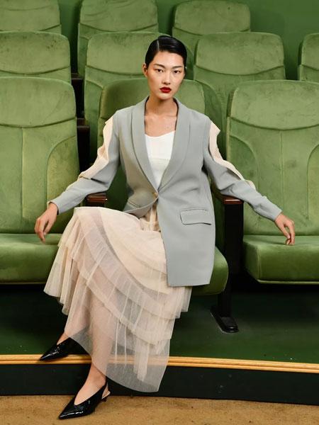 印象主题女装品牌2020春夏新款纯色气质马甲