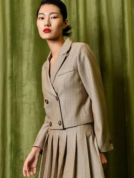 印象主题女装品牌2020春夏新款纯色气质ol裙子套装