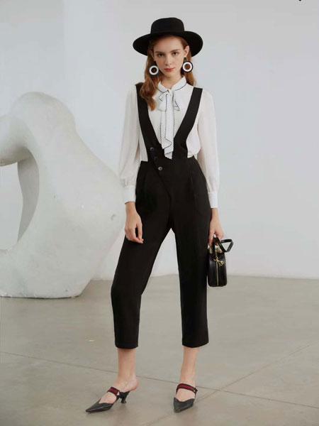 曼诺比菲女装品牌2020春夏新款纯色气质吊带裤子