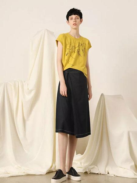 柯妮丝��女装品牌2020春夏新款纯色简洁无袖上衣