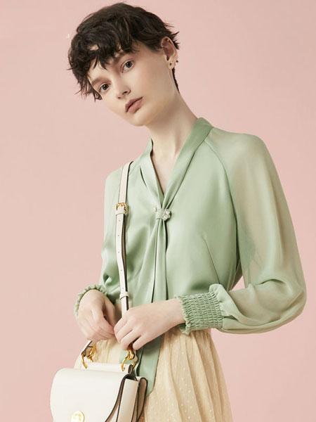 Rhema女装品牌2020春夏新款通勤OL优雅长袖衬衫上衣女