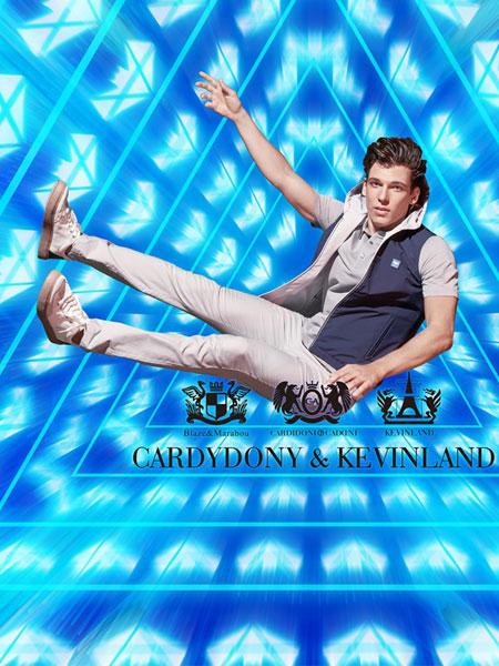 凯迪东尼男装品牌2020春夏新款纯色立领个性马甲