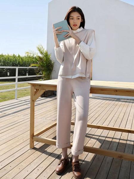 MOKOO女装品牌2020春夏新款纯色气质套装