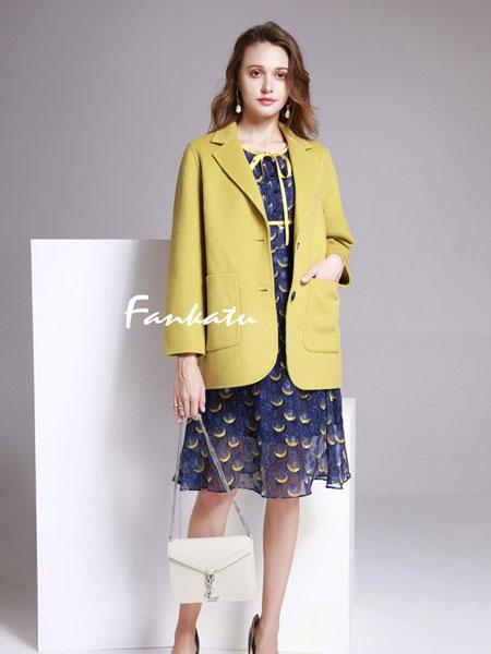 范卡图女装品牌2020春夏新款纯色翻领纽扣长袖夹克