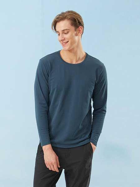 思凱樂休閑品牌2020春夏新款純色衛衣