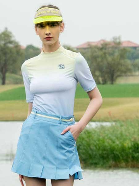 尚约高尔夫休闲品牌2020春夏新款运动短袖