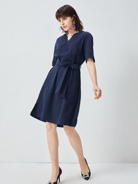 MINETTE夏季新品仙气十足雪纺连衣裙