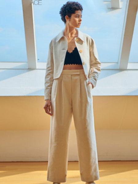 艾匹思女装品牌2020春夏新款纯色翻领气质小外套