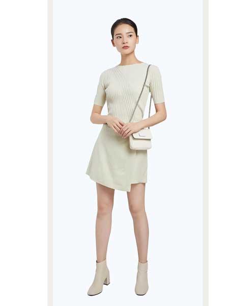 法路易娜女装品牌2020春夏新款修身毛衫