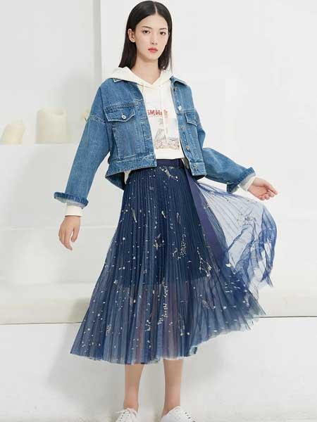 佳人苑女装品牌2020春夏短款牛仔夹克
