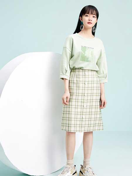金苑女装品牌2020春夏时尚纯棉套装