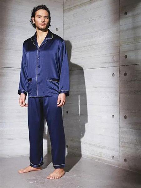 德国舒雅品牌2020春夏新款纯色气质家居服